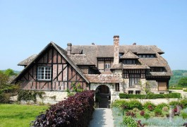 Manors for sale - lower-normandy - In Calvados, an Anglo-Norman manor house in a 34 ha (84 acre) estate
