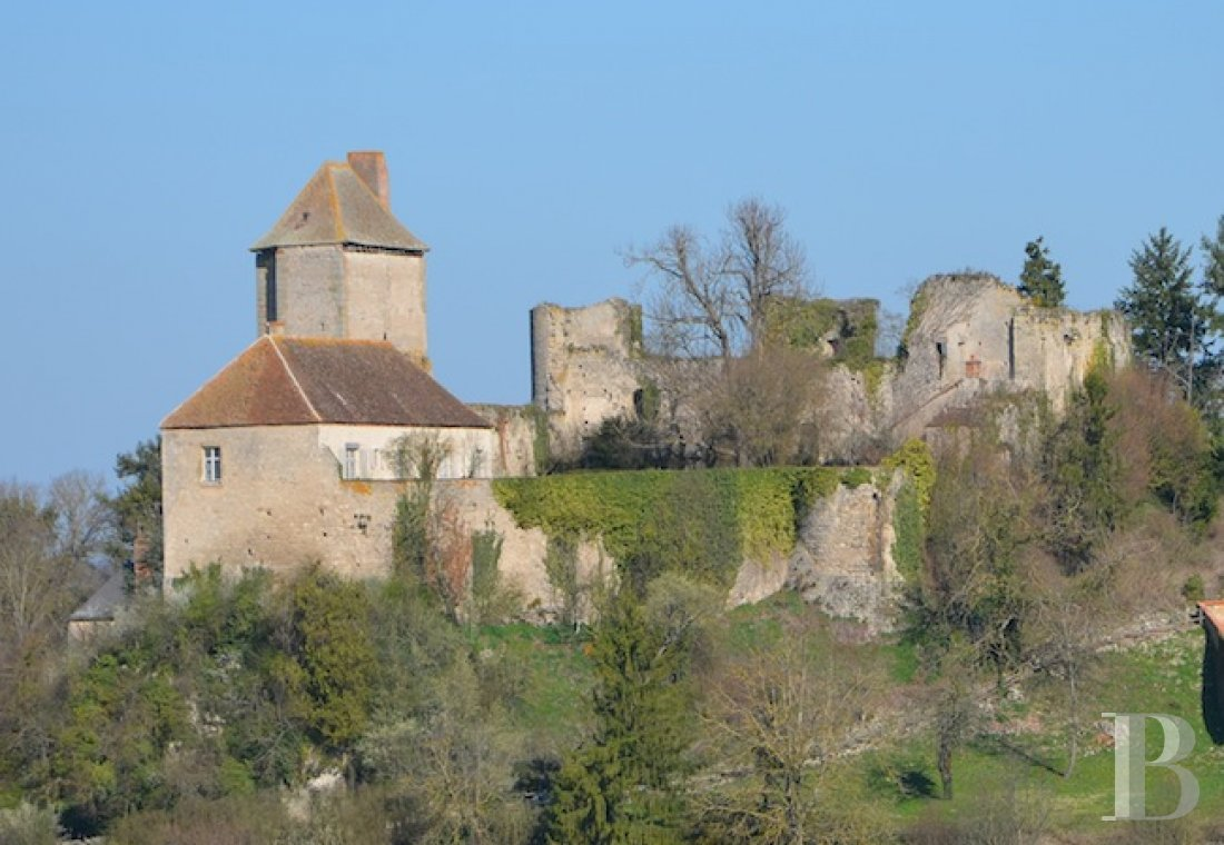 chateaux for sale France center val de loire fortress bourbonais - 1