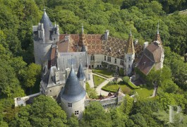 Castles / chateaux for sale - burgundy - The Château de La Rochepot, a symbolic Medieval Burgundy monument