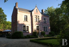 Village houses for sale - center-val-de-loire - In the �Pays Fort� region, a former convent and its 6,000 m² (1.5 acre) parklands