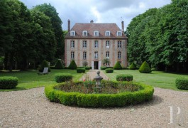 Manors for sale - upper-normandy - Upper-Normandy, - 17th century manor house  in Eure- et-Loir department