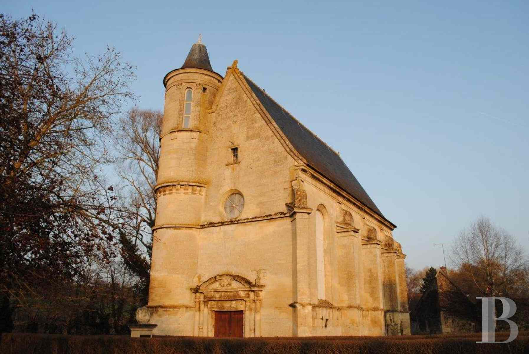 monastery for sale France picardy chapel for - 1 zoom
