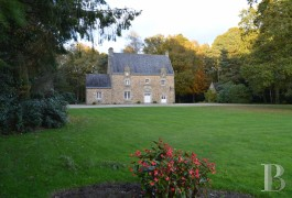 Manors for sale - brittany - A reconstituted manor house and its outbuilding  in grounds of more than 5 hectares of Rennes