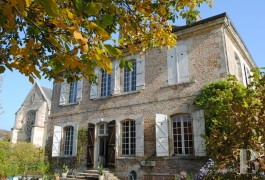 Character houses for sale - lorraine - A 12th & 18th century abbey residence, two hours from Paris between Reims and Metz