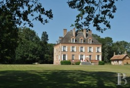 Residences for sale - center-val-de-loire - SOLE AGENCY RIGHTS - A large luxurious home with its 320 ha of hunting grounds in the Solonge region