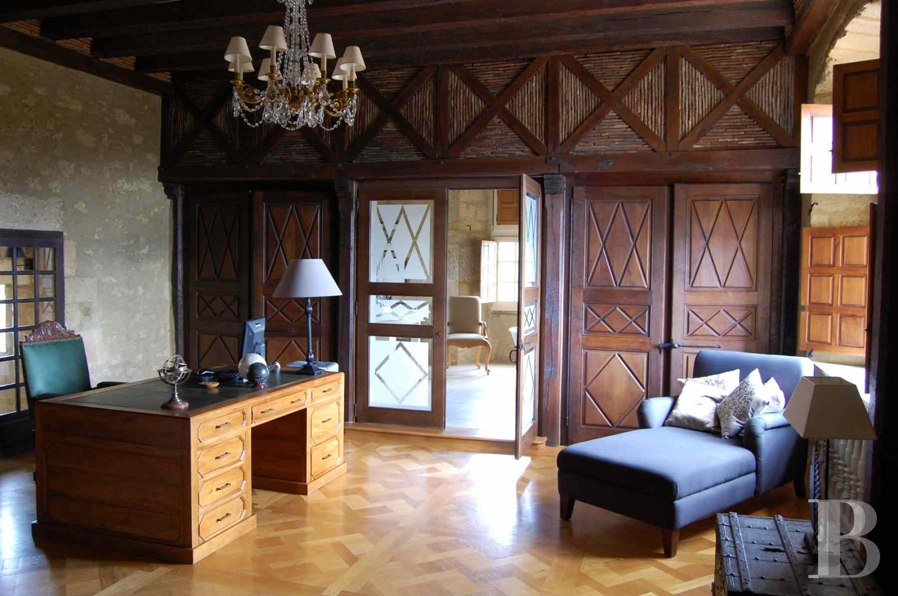 chateaux for sale France aquitaine bearn region - 11 zoom