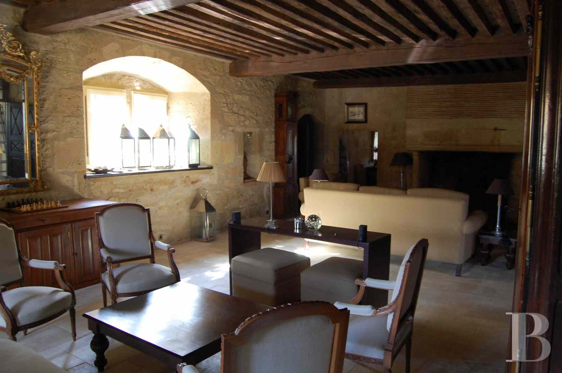 chateaux for sale France aquitaine bearn region - 13 zoom