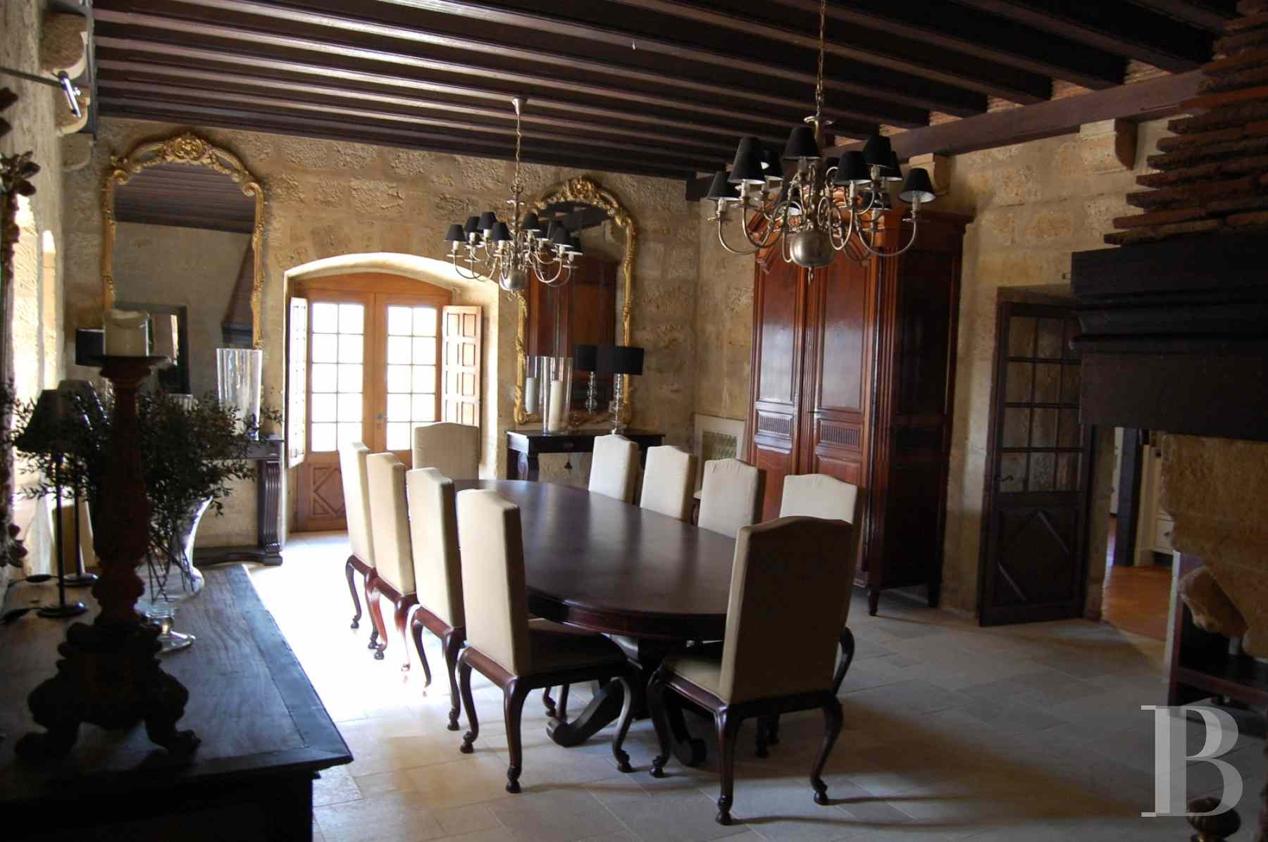 chateaux for sale France aquitaine bearn region - 8 zoom