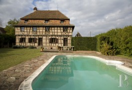 Character houses for sale - alsace - A large, luxurious, half-timbered home near to Strasburg in the Alsace region
