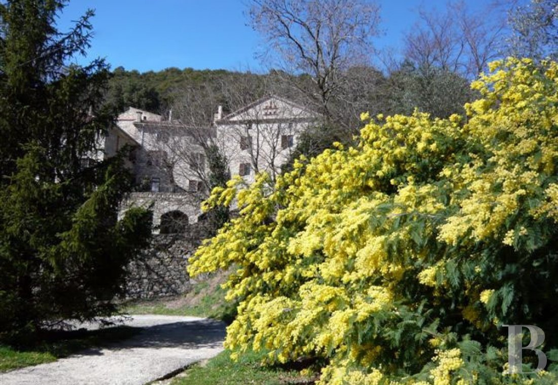 character properties France languedoc roussillon estate cevennes - 1