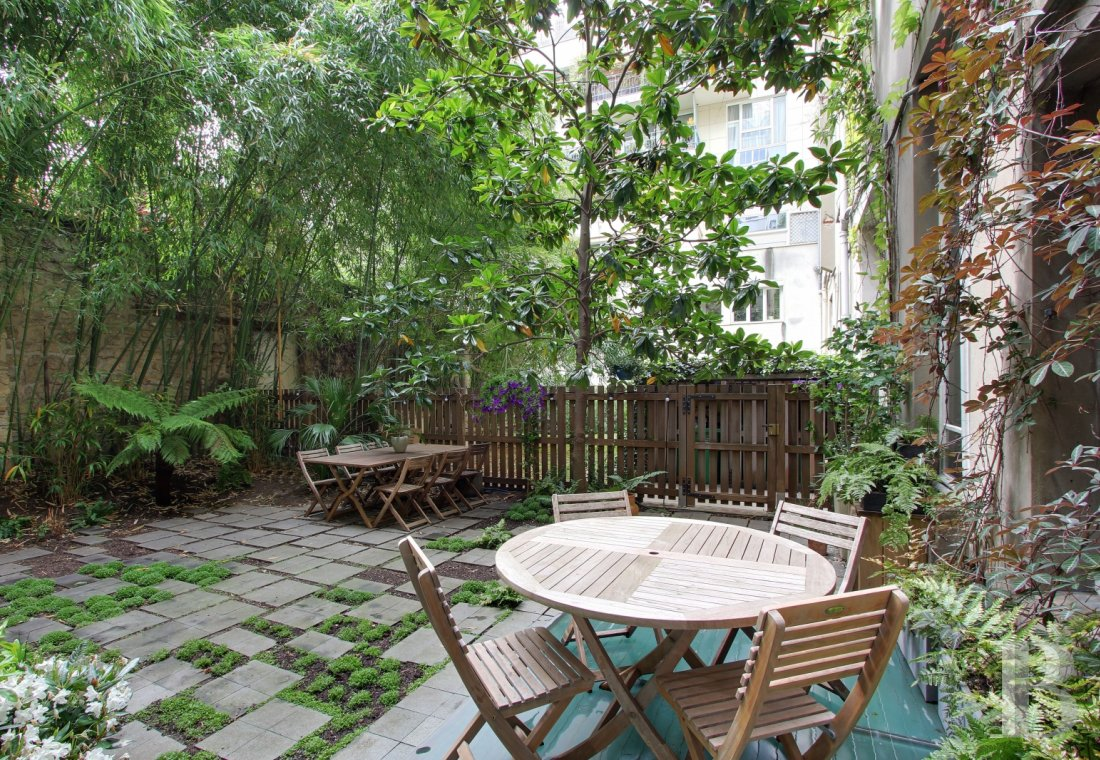 appartments for sale paris house garden - 1