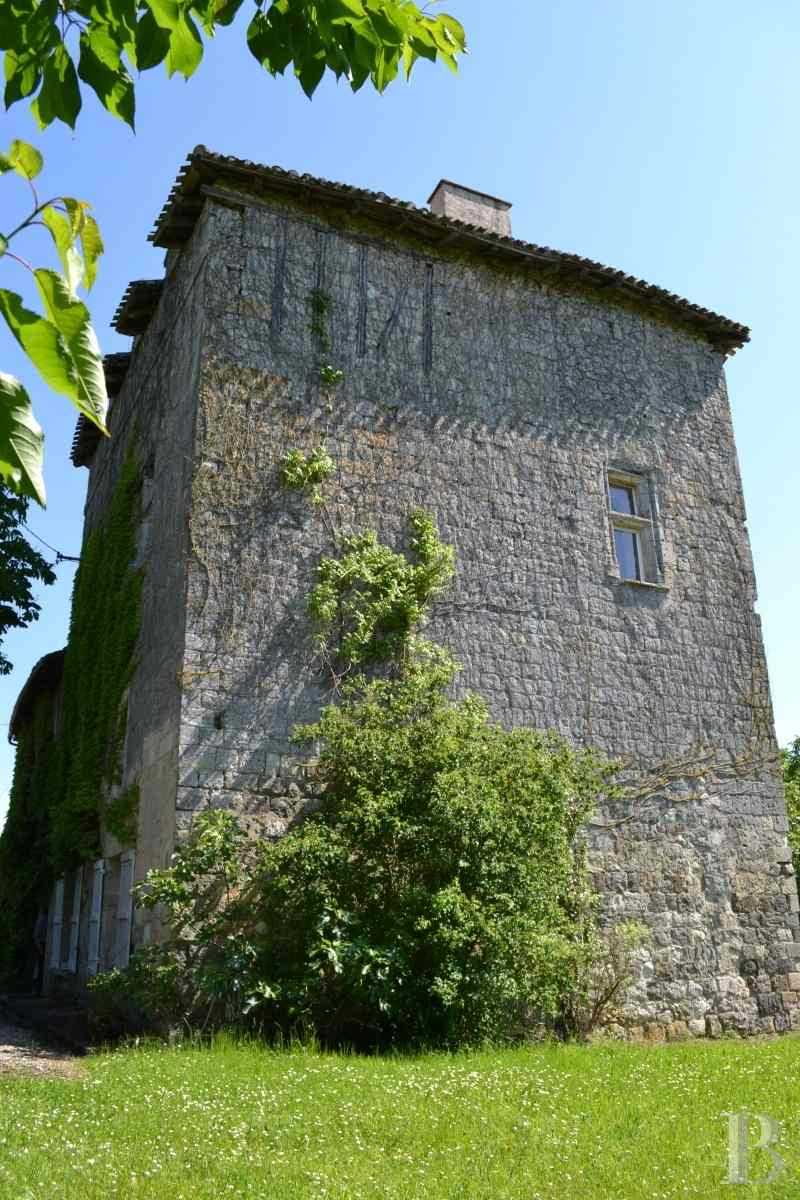 chateaux for sale France aquitaine property tower - 2 zoom