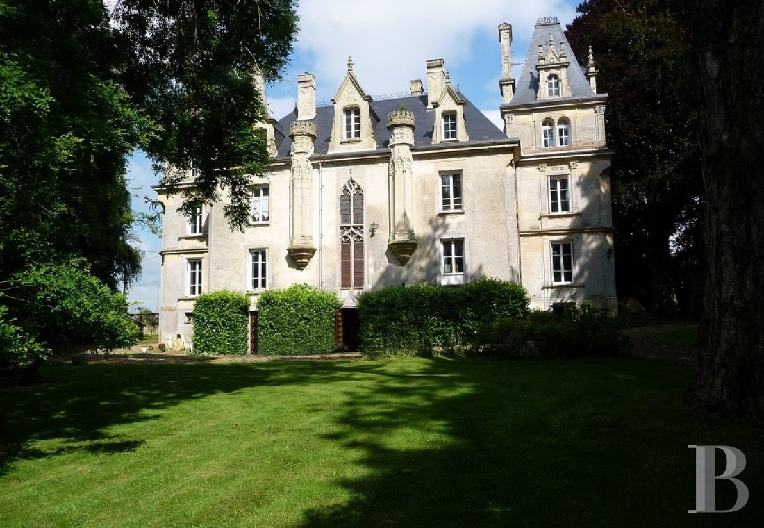 chateaux a vendre basse normandie calvados neo - 1