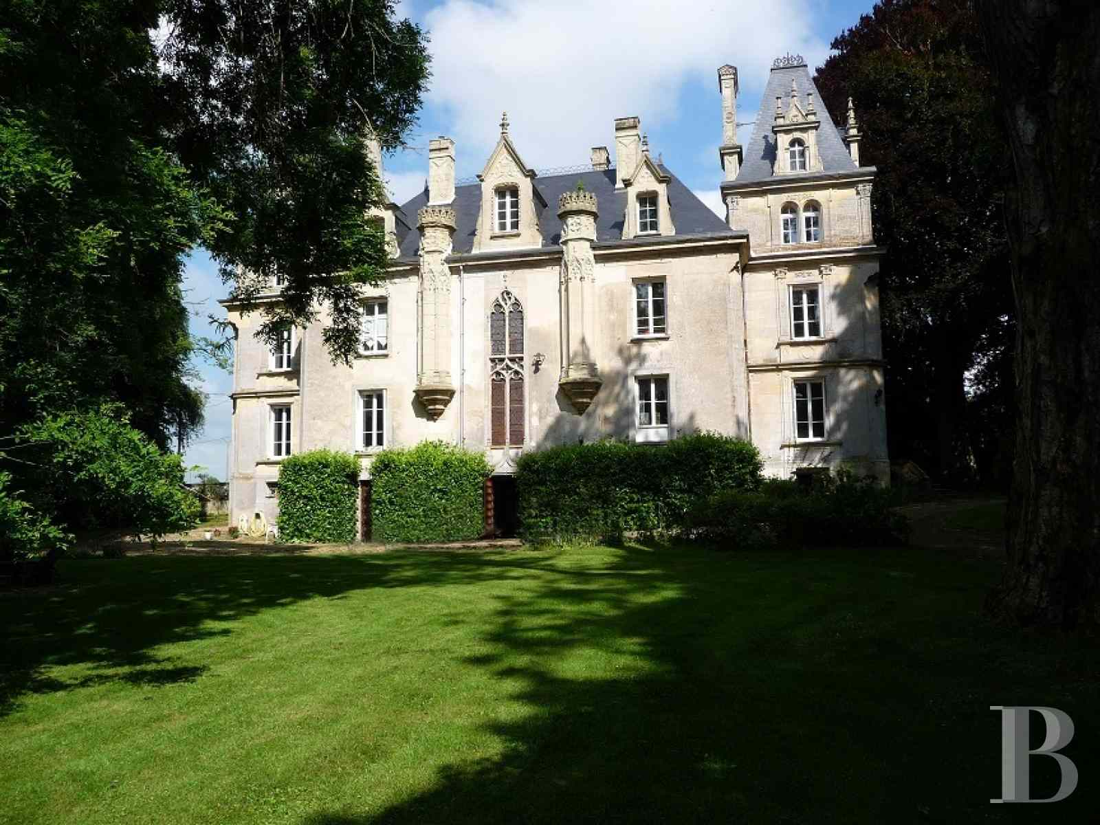 chateaux for sale France lower normandy calvados department - 1 zoom