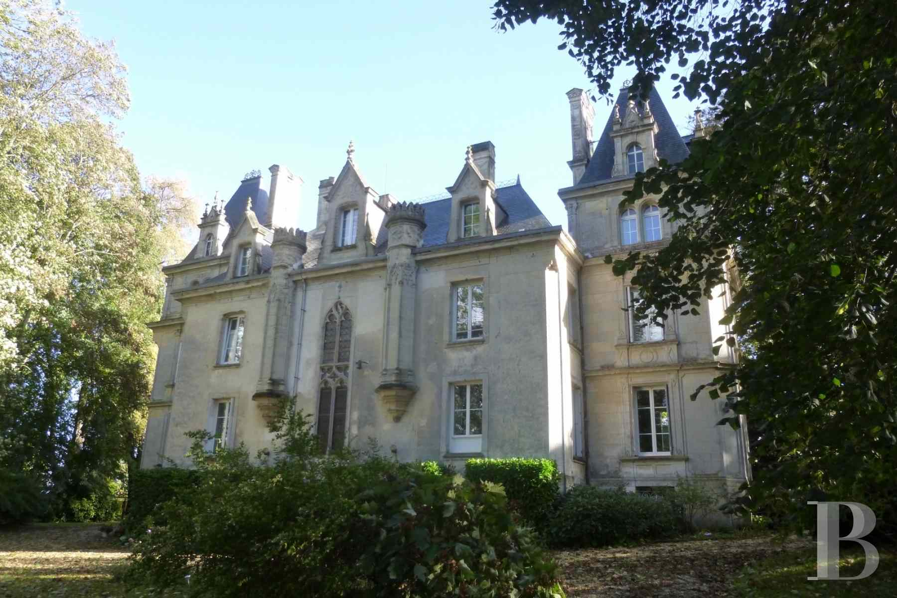 chateaux for sale France lower normandy calvados department - 2 zoom
