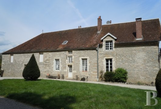 french equestrian properties for sale burgundy property view - 6