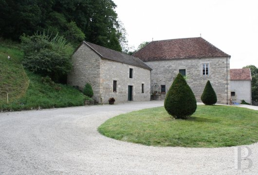 french equestrian properties for sale burgundy property view - 9