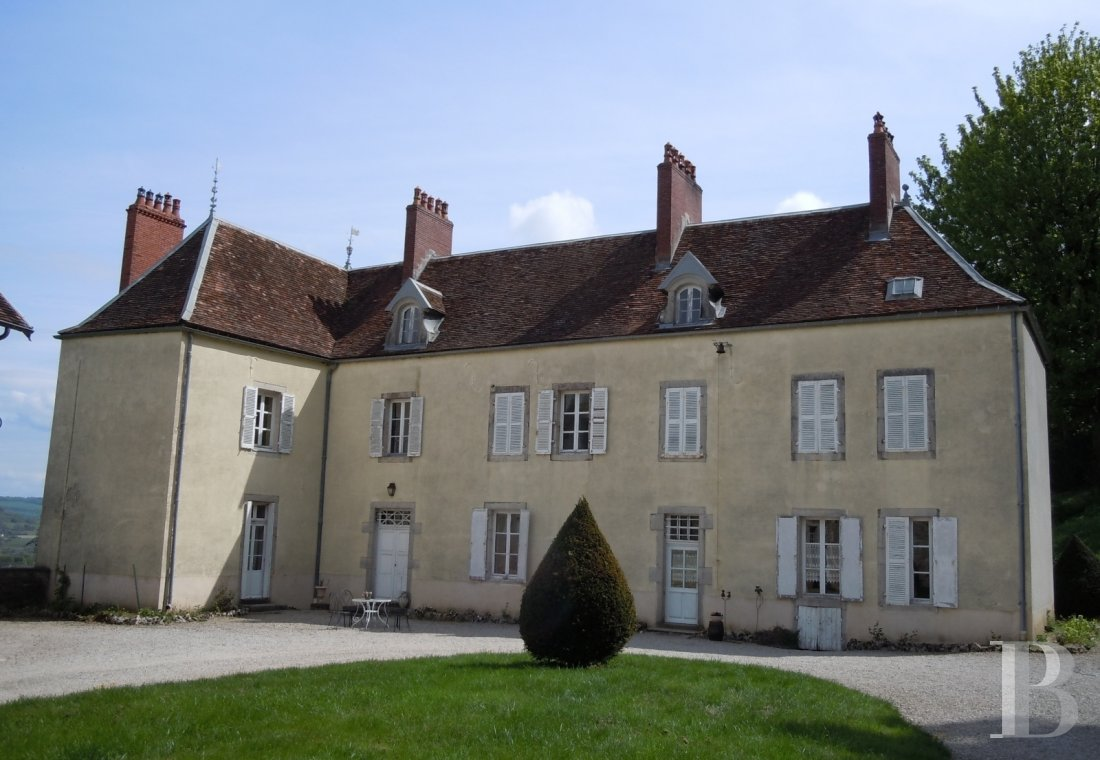french equestrian properties for sale burgundy property view - 4