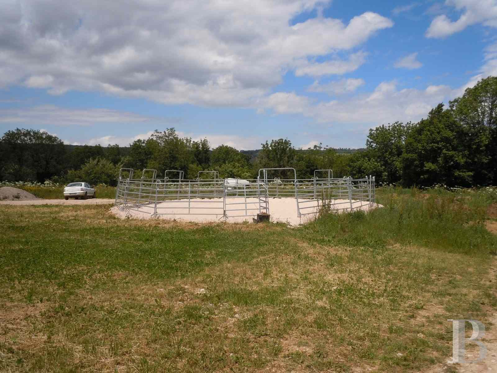french equestrian properties for sale burgundy property view - 3 zoom