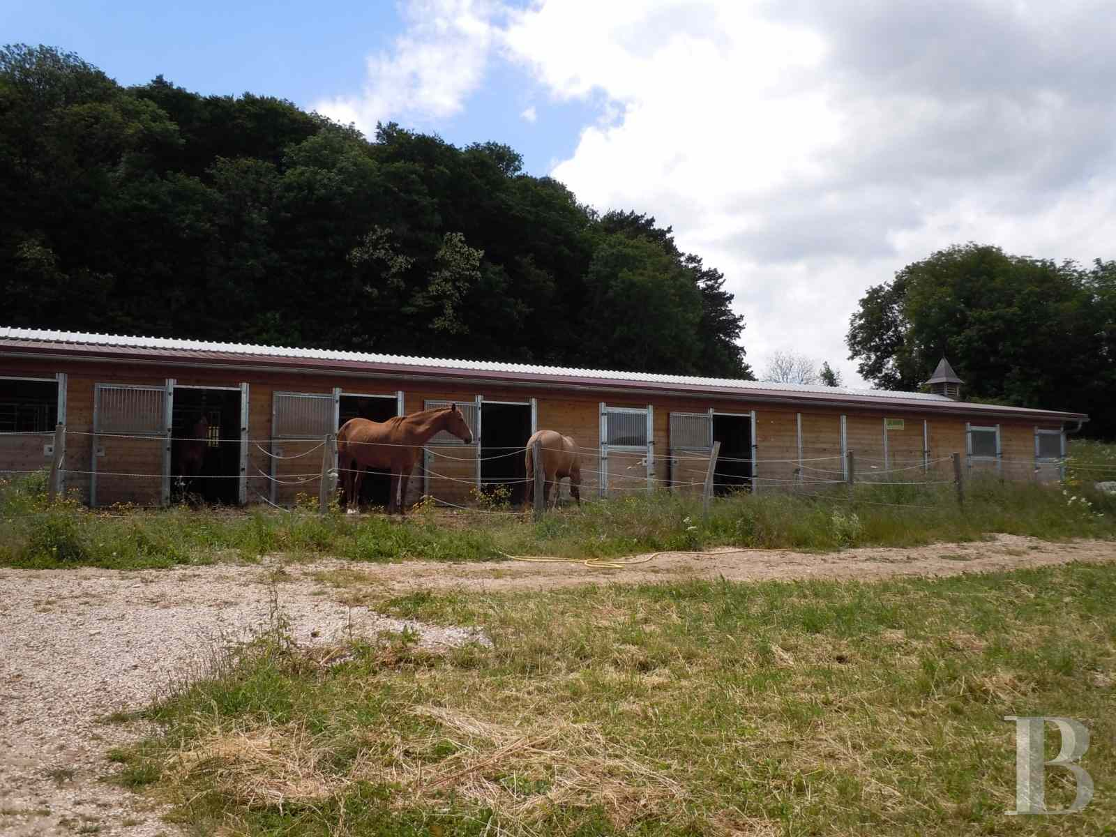 french equestrian properties for sale burgundy property view - 5 zoom