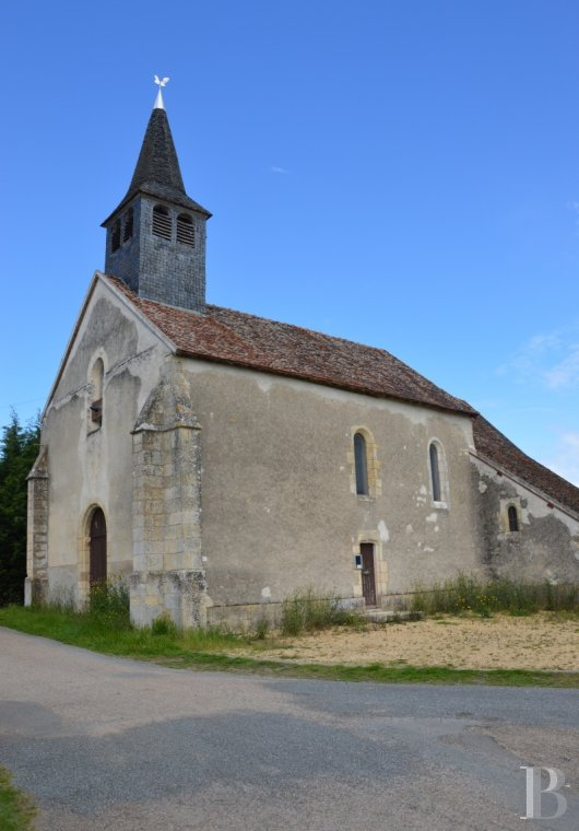 monastery for sale France center val de loire church chapel - 5