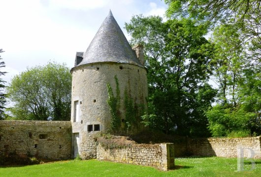 chateaux for sale France lower normandy bessin area - 17