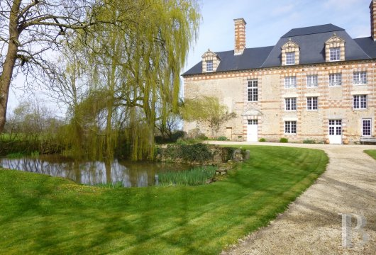 chateaux for sale France lower normandy bessin area - 2