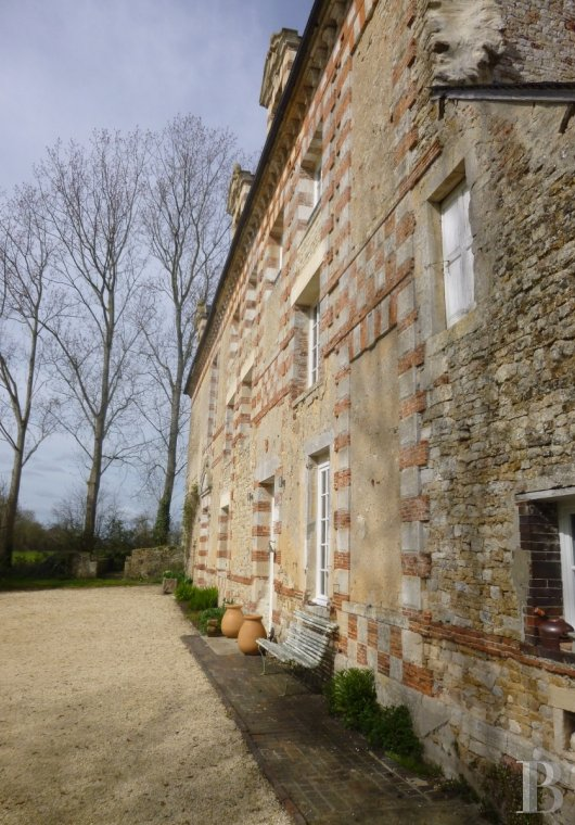 chateaux for sale France lower normandy bessin area - 5
