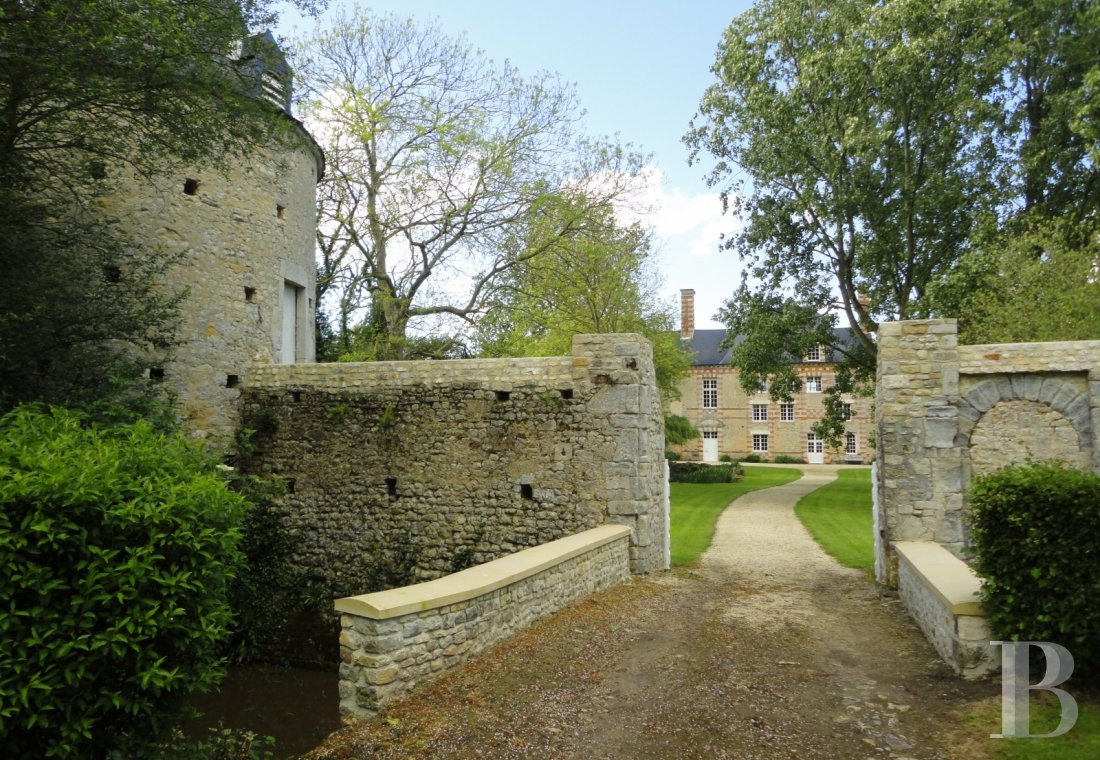 chateaux for sale France lower normandy bessin area - 1