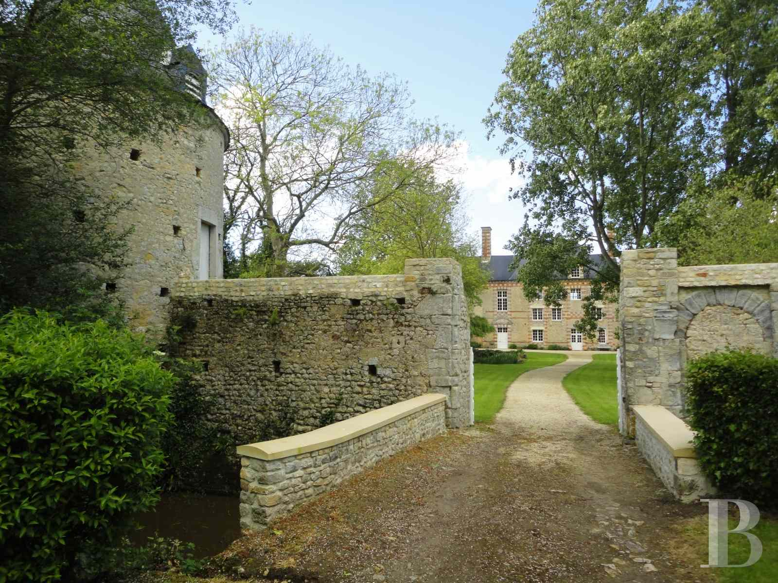 chateaux for sale France lower normandy bessin area - 1 zoom