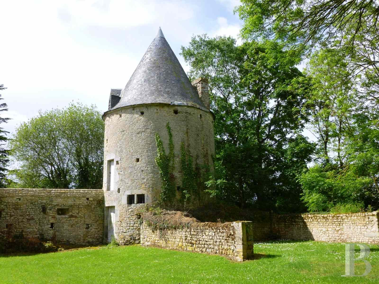 chateaux for sale France lower normandy bessin area - 17 zoom
