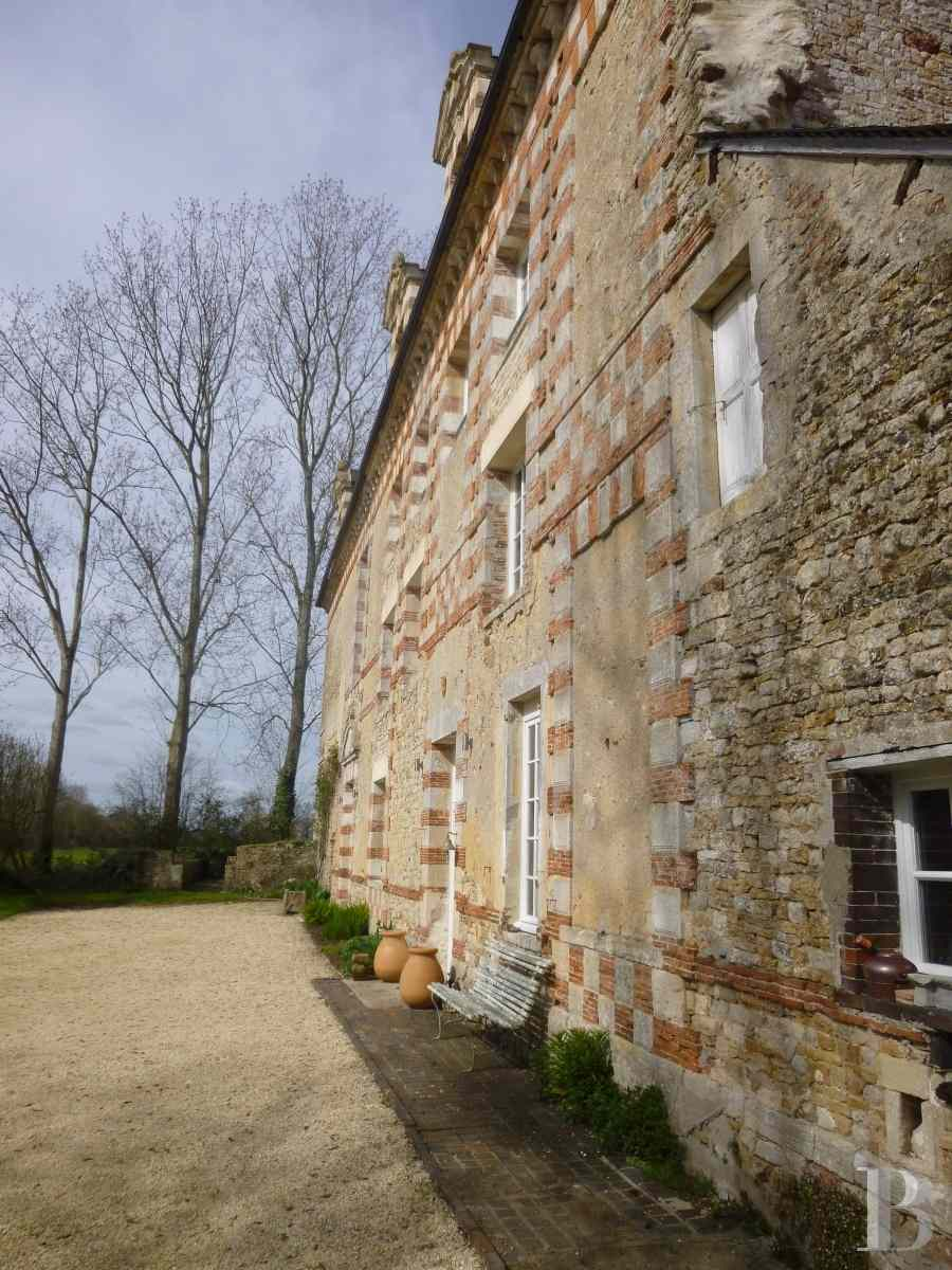 chateaux for sale France lower normandy bessin area - 5 zoom