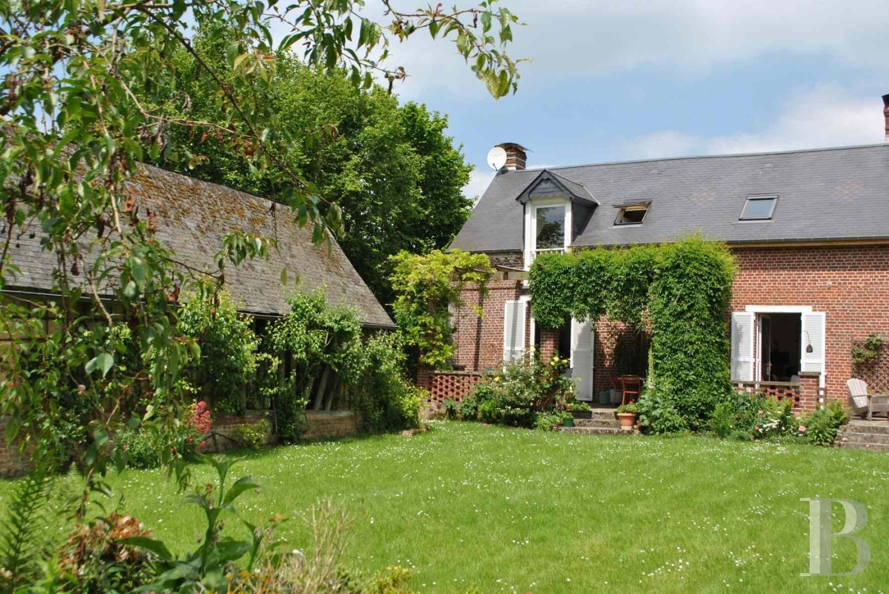 A 120 km de paris en haute normandie jolie demeure de for Haute ou basse normandie