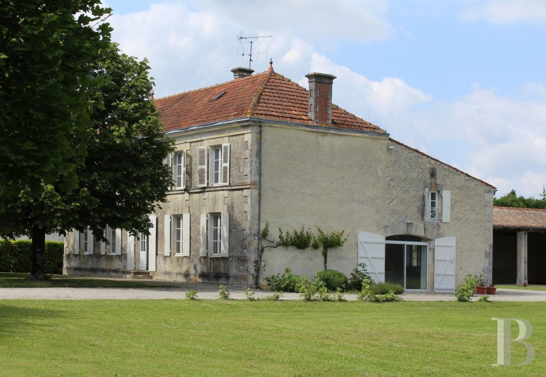 french farms for sale poitou charentes 19th century - 1