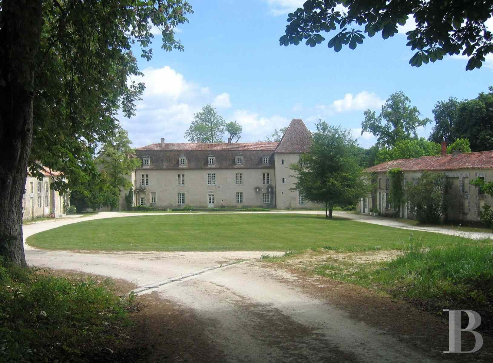 chateaux for sale France poitou charentes angouleme listed - 2 zoom