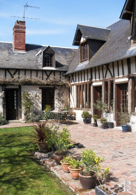property for sale France upper normandy listed village - 3 mini