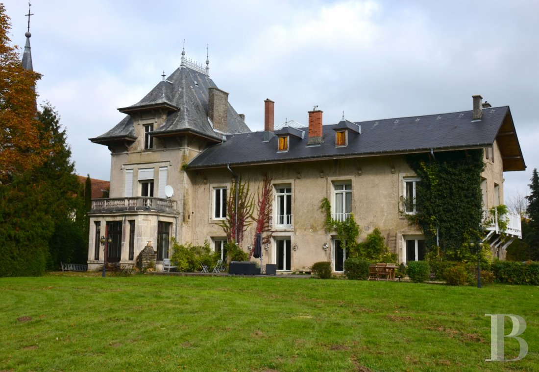 France mansions for sale lorraine 19th century - 1
