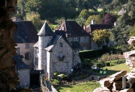 Historic buildings for sale - limousin - Bordered by a river,-noble listed residence and parklands