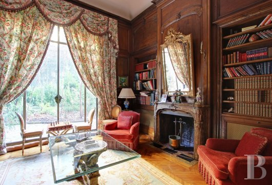mansion houses for sale paris garden golden - 10