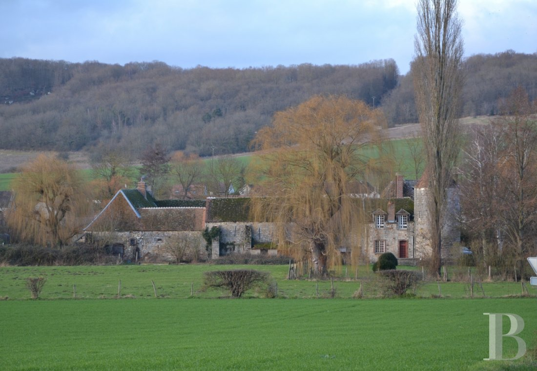 Manors for sale - burgundy - A medieval manor house, redesigned in the Renaissance period, an hour from Paris in the French department of Yonne