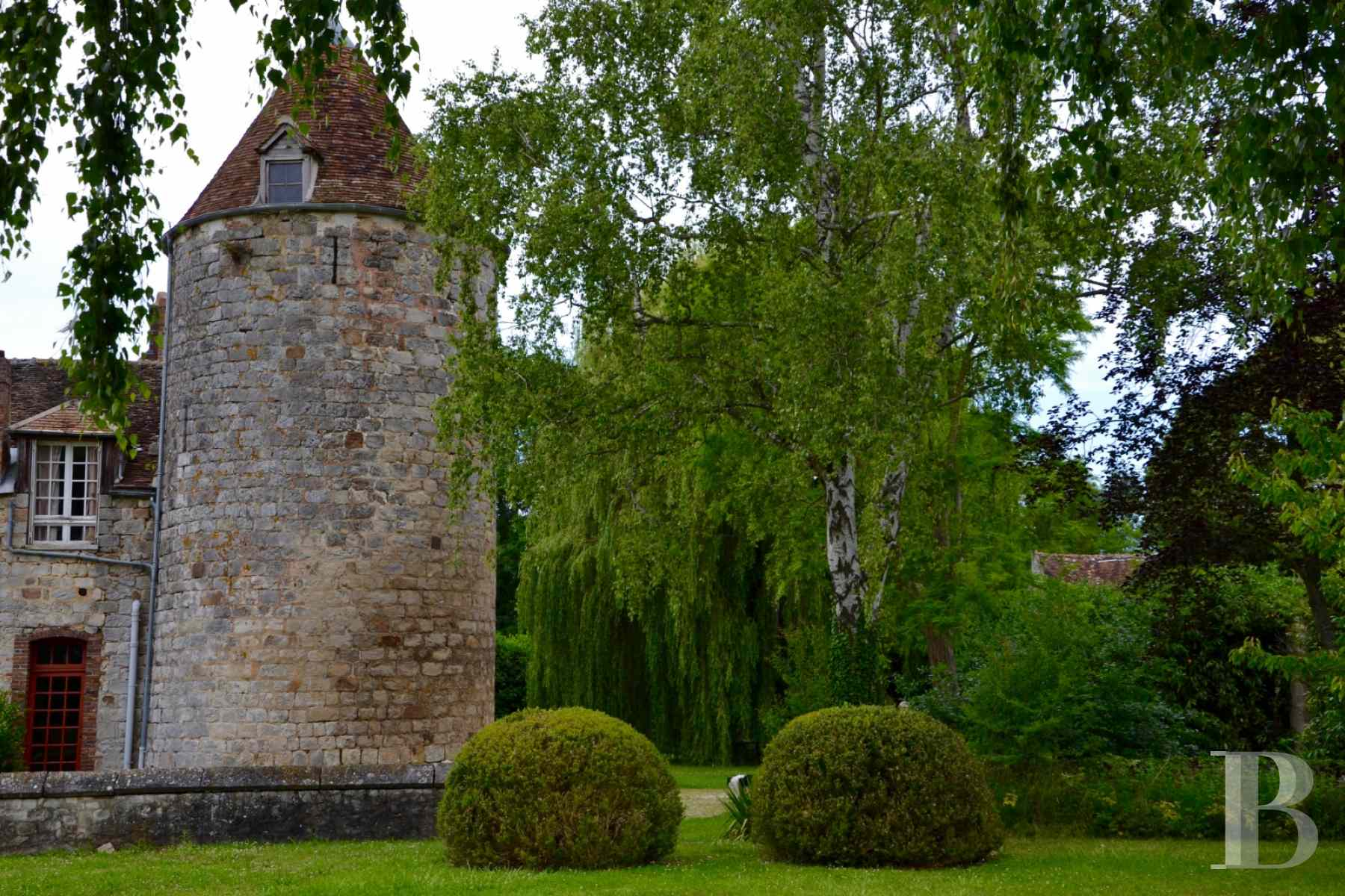 France mansions for sale burgundy medieval renaissance - 5 zoom