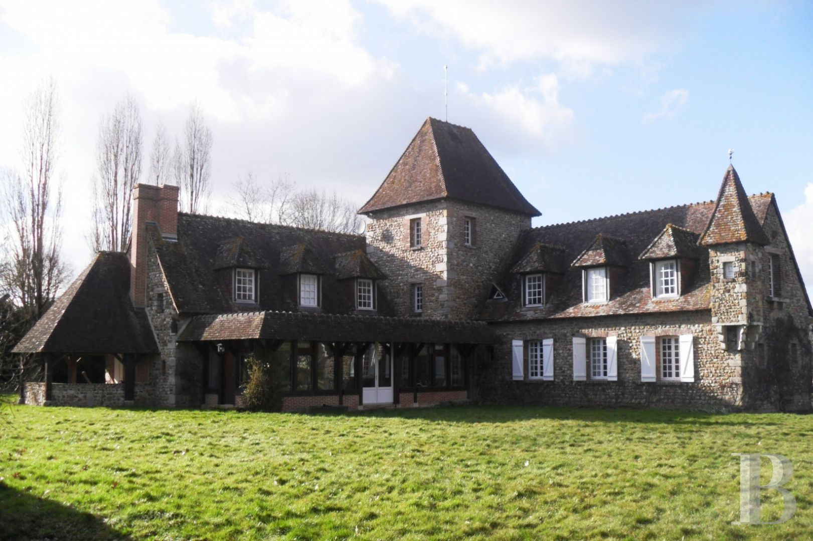 France mansions for sale upper normandy swimming pool - 2 zoom