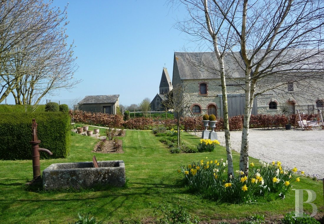 manoirs a vendre basse normandie   - 5