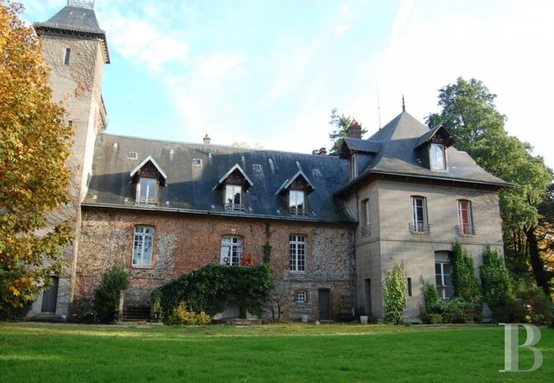 France mansions for sale upper normandy manors for - 1