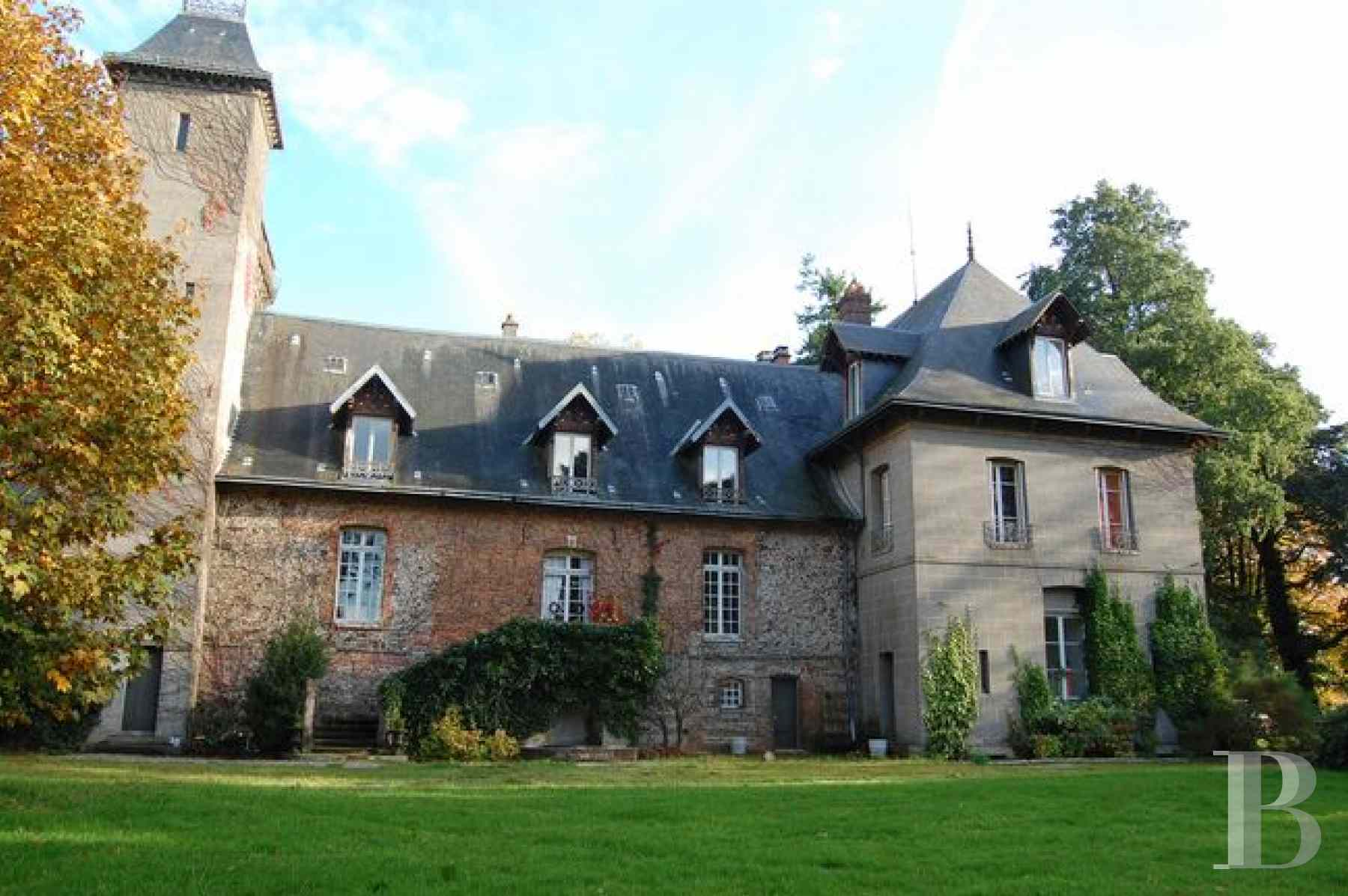 France mansions for sale upper normandy manors for - 1 zoom