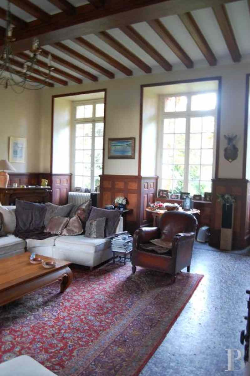 France mansions for sale upper normandy manors for - 12 zoom