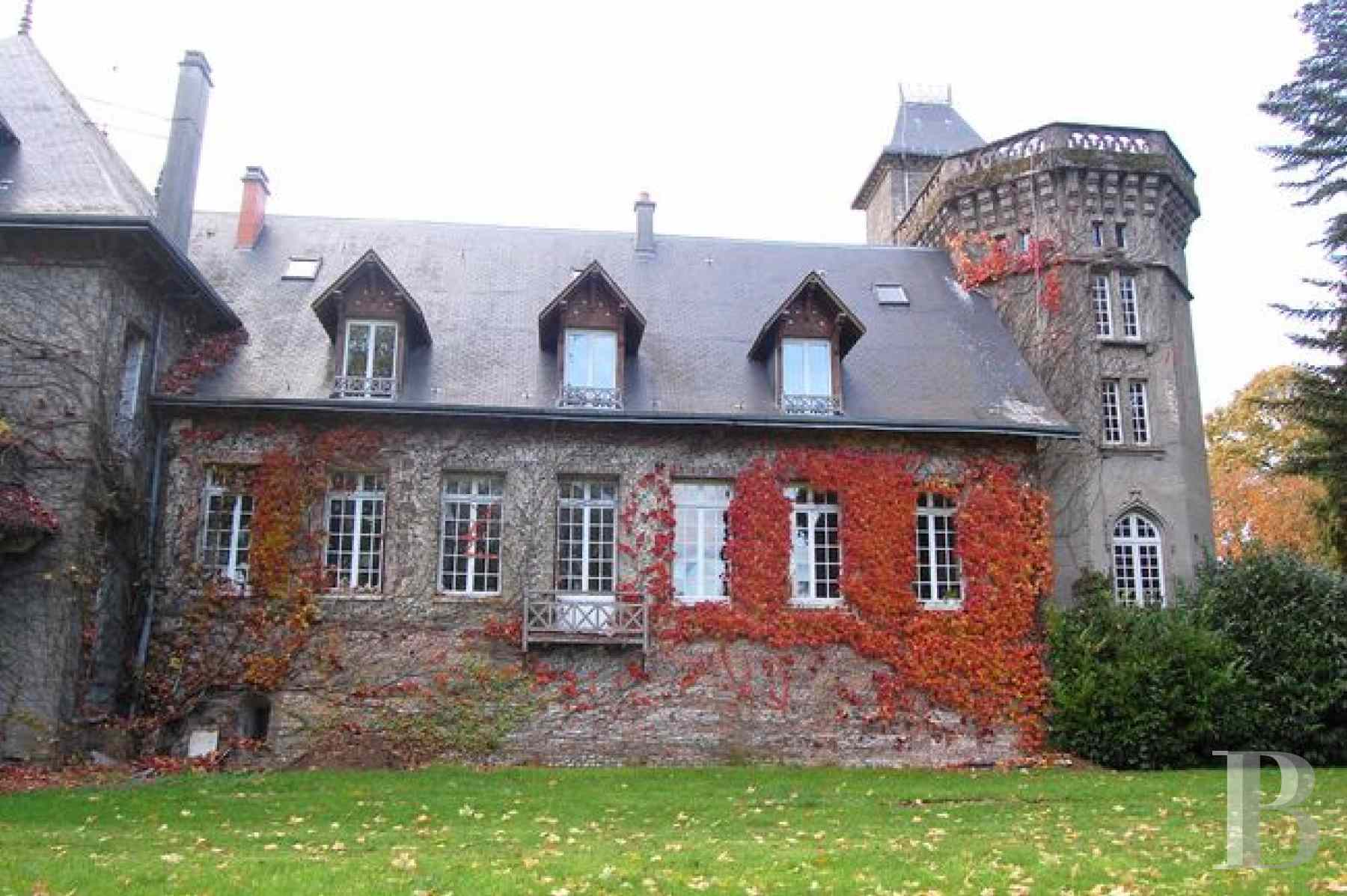 France mansions for sale upper normandy manors for - 3 zoom
