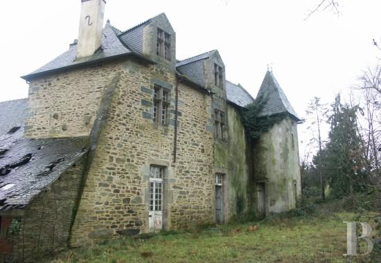 manoir et chateau a vendre morbihan