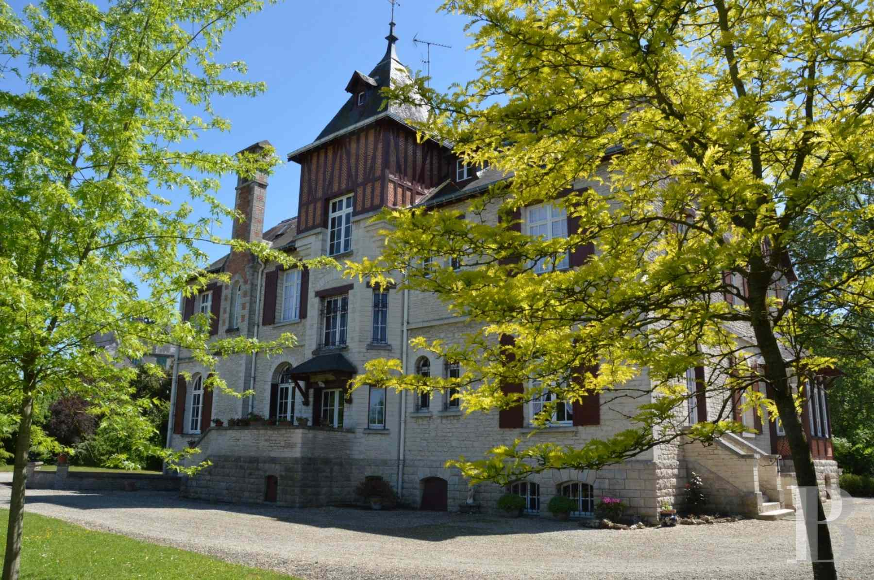 France mansions for sale champagne ardennes property aube - 1 zoom