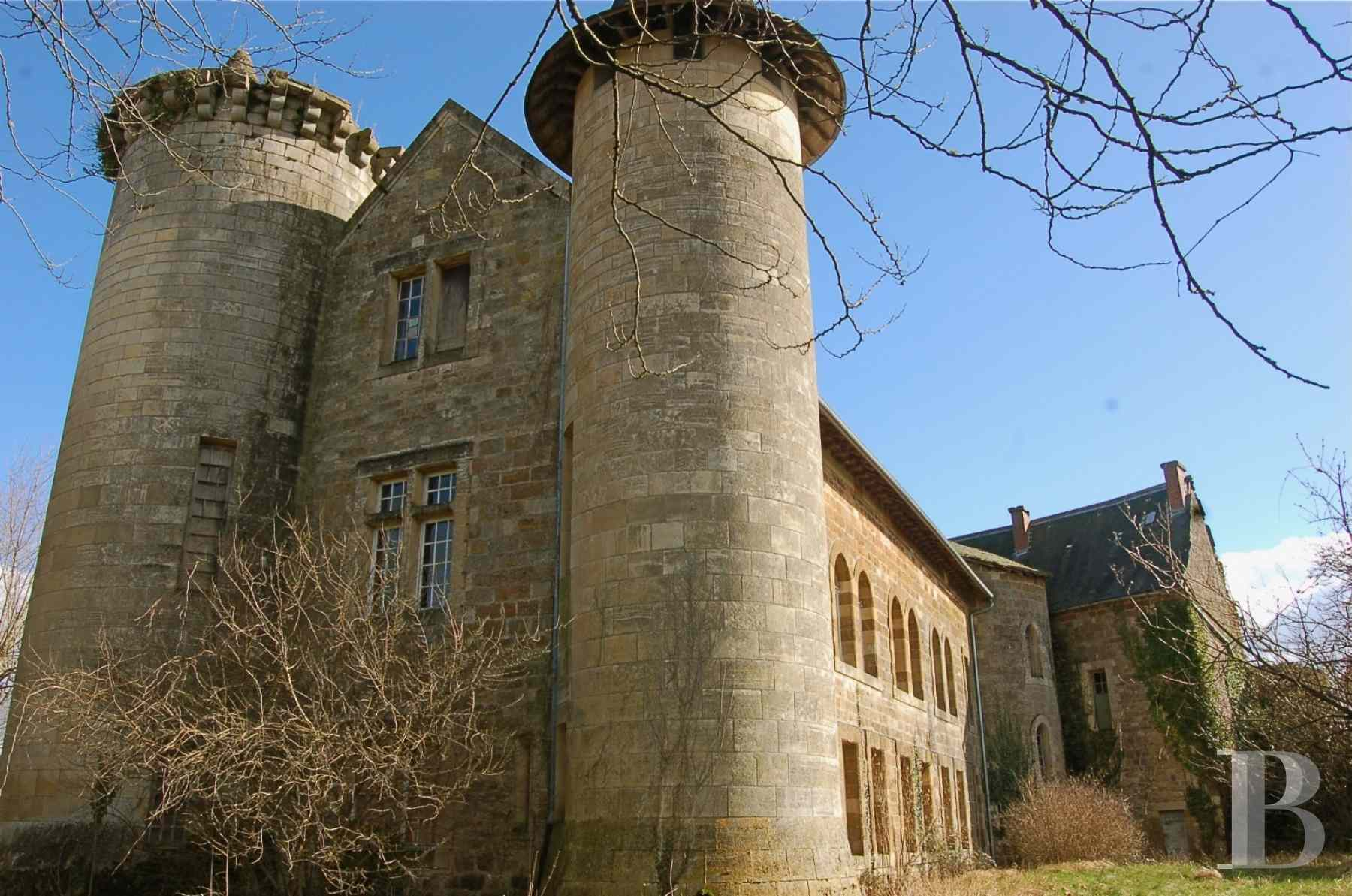 chateaux for sale France midi pyrenees figeac  - 2 zoom